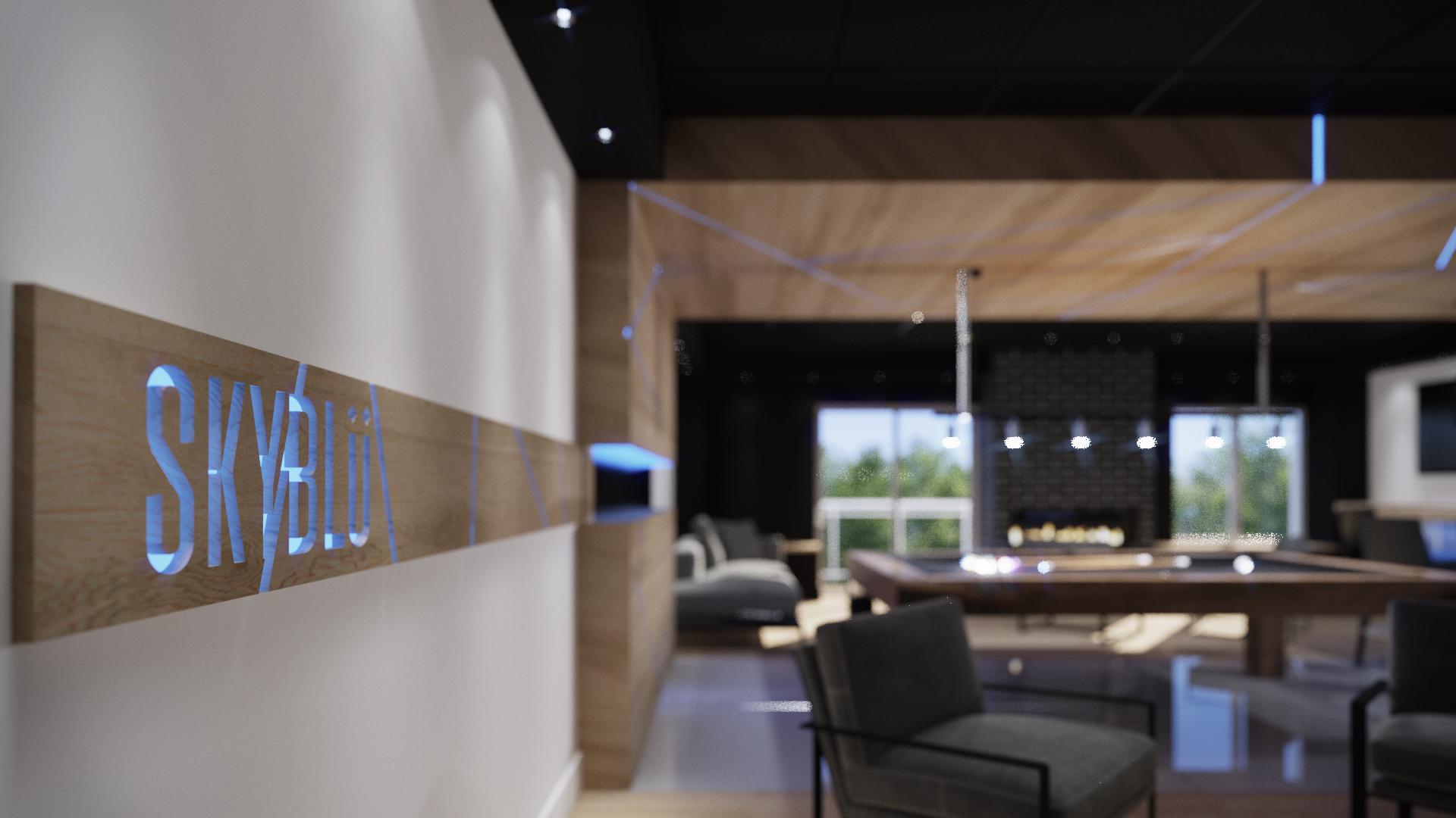 Lounge - Skyblü - Condos neufs a vendre a Mirabel