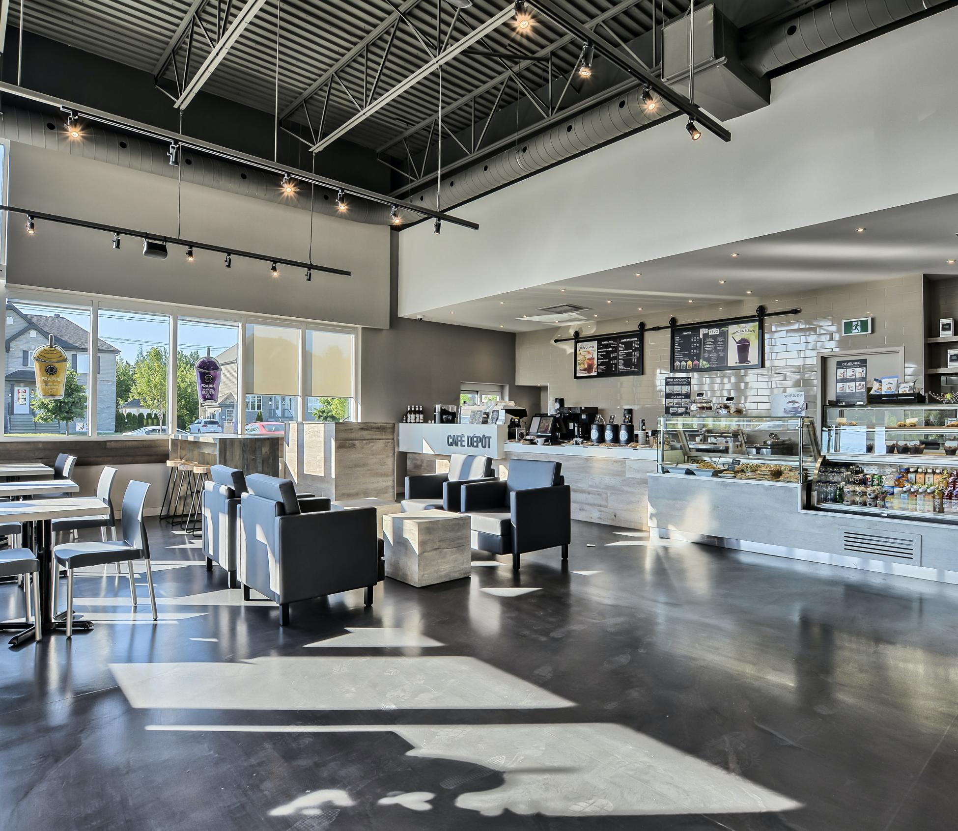 Café Dépôt - Condos neufs a vendre à Mirabel   Skyblu