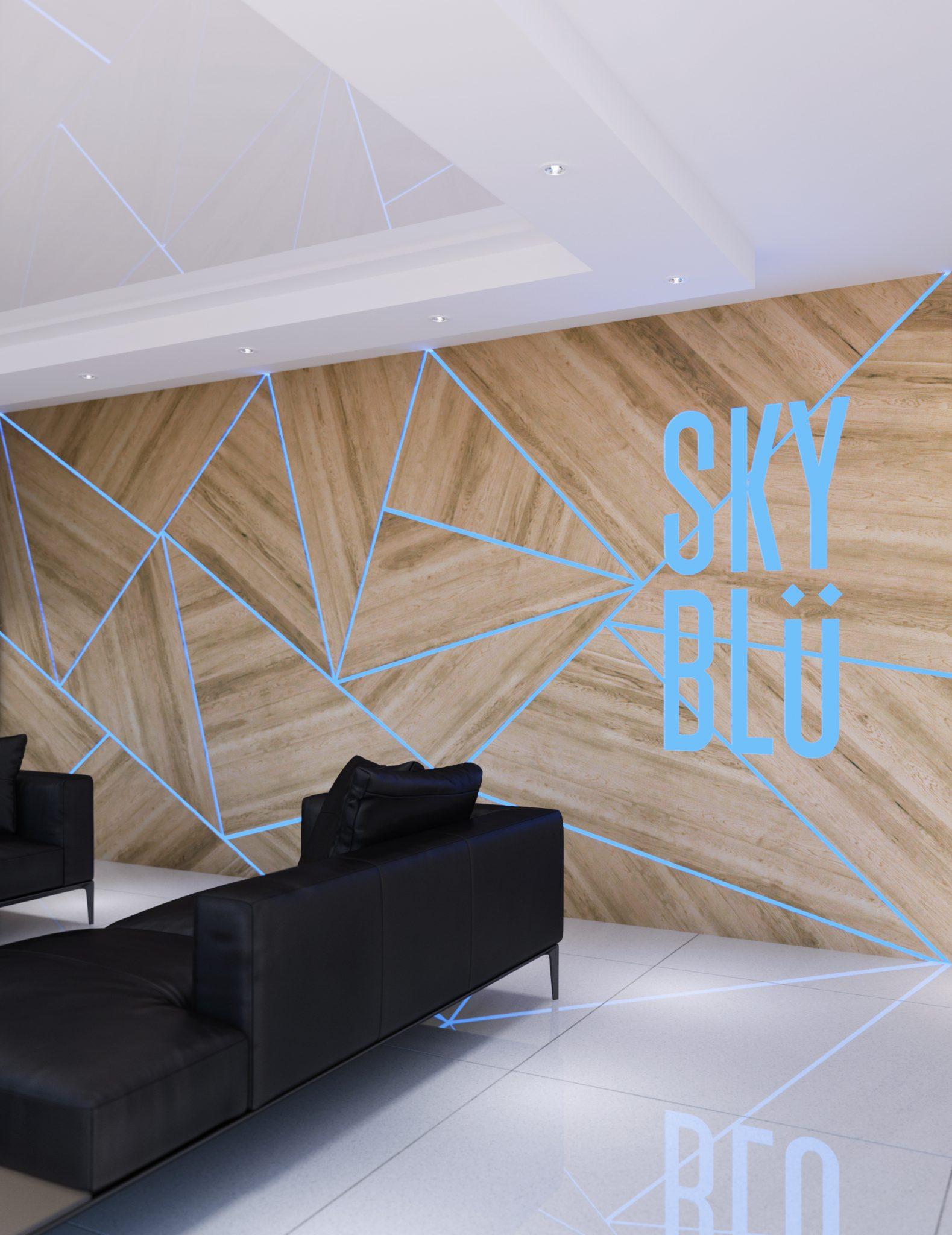 Skyblu lobby - Condos neufs a vendre à Mirabel