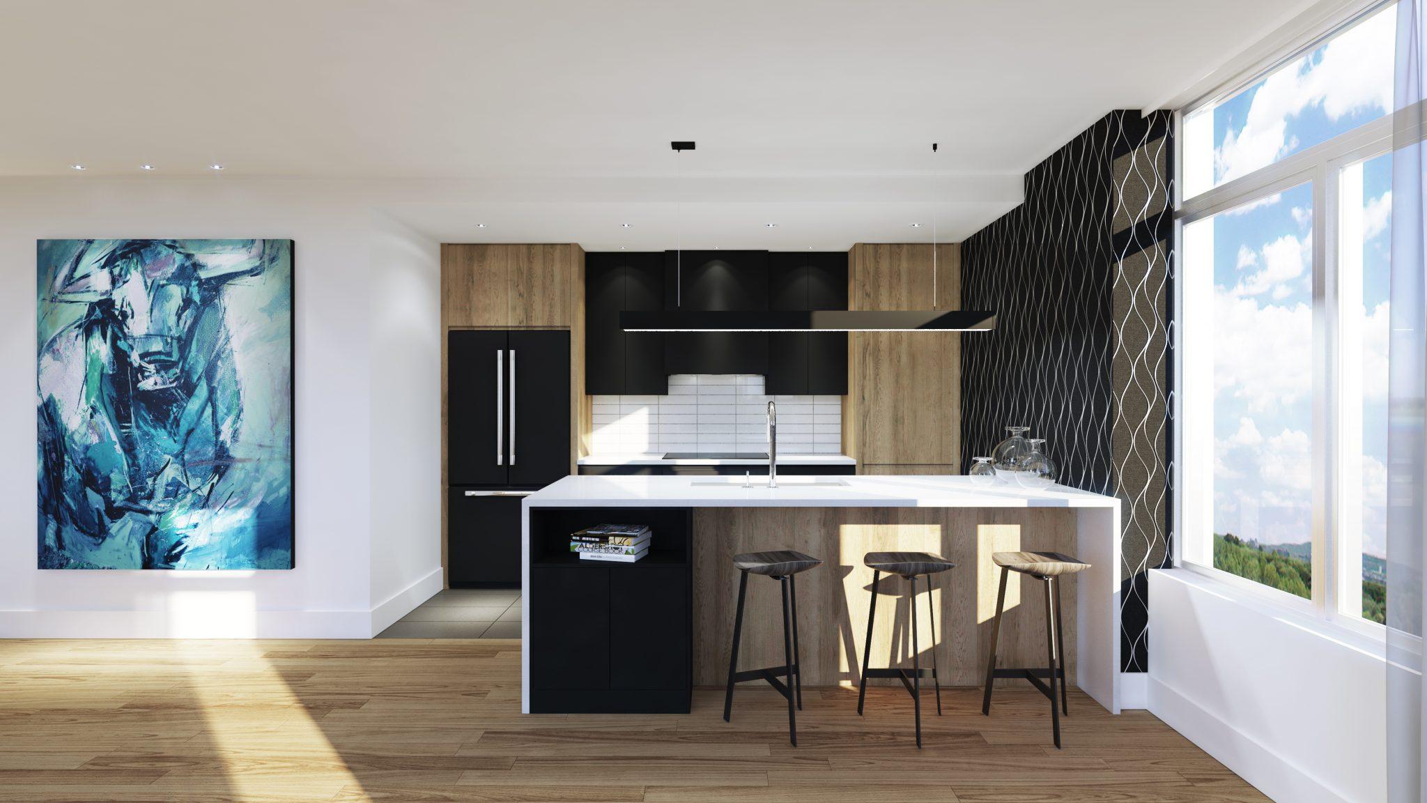 Penthouse - Skyblu - Condos neufs a vendre à Mirabel