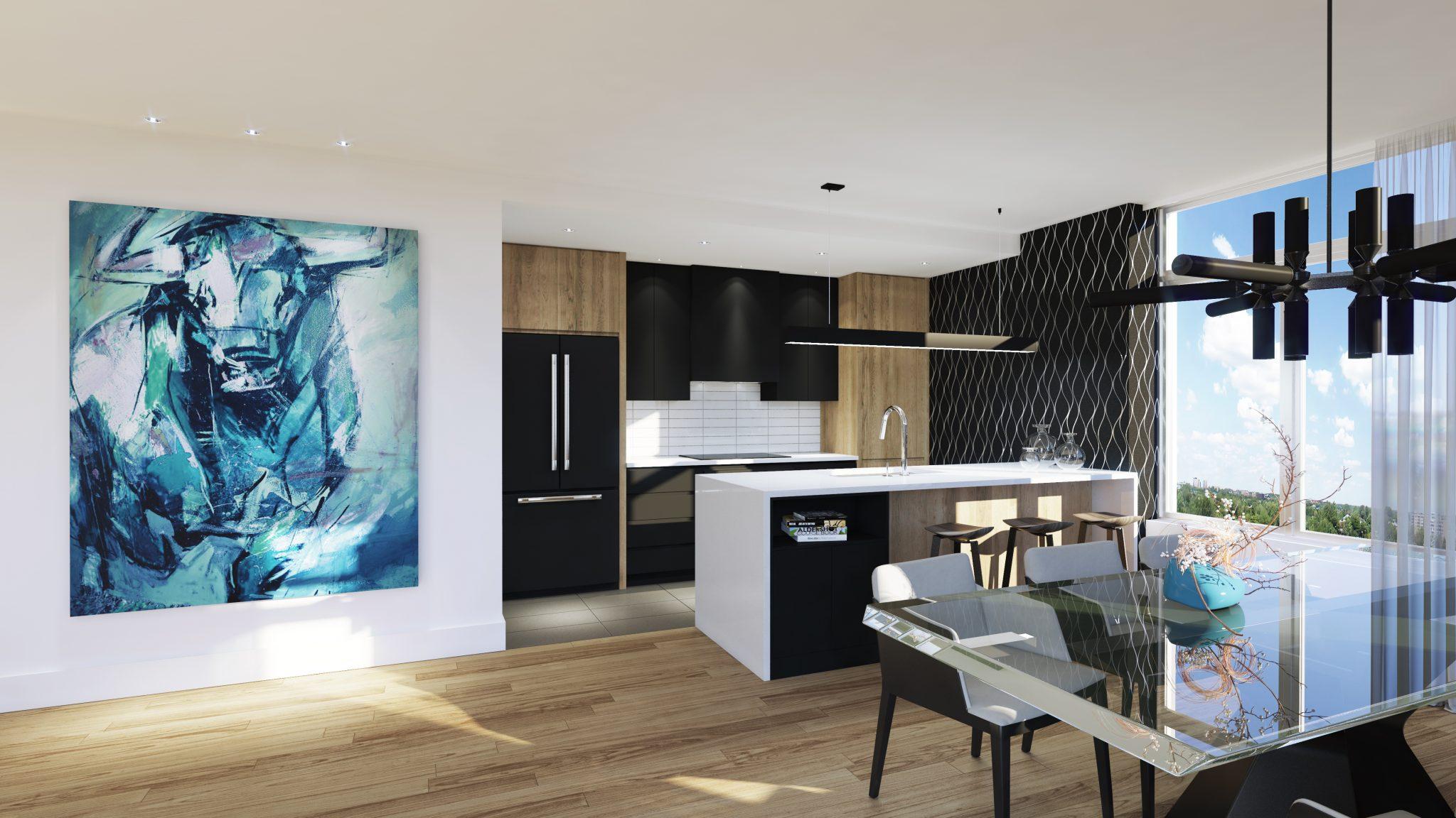 Penthouse - Skyblü - Condos neufs a vendre a Mirabel