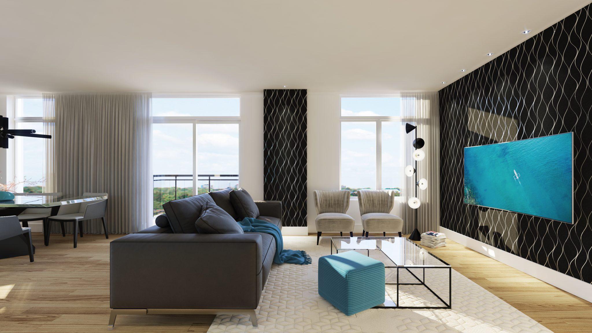 Penthouse - Skyblü - Condos neufs a vendre à Mirabel