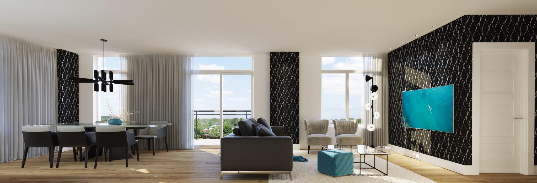 Penthouse - Condos neufs a vendre a Mirabel | Skyblu Condos